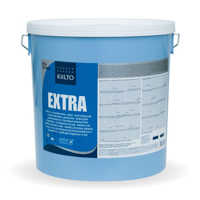 Kiilto Extra. Клей для напольных и стеновых покрытий 18 кг.