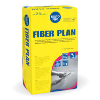 Kiilto Fiber Plan.  Армированный наливной пол 25 кг.