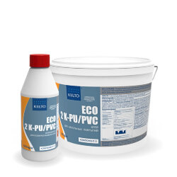 Kiilto ECO 2K PU/PVC. Двухкомпонентный полиуретановый клей. 11 кг