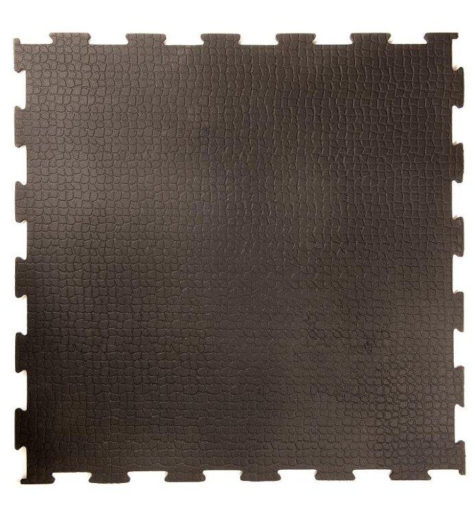 Резиновая плитка для гаража ГрандПол, 20 мм