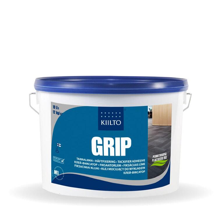 Kiilto Grip. Клей фиксатор для ковровой плитки.