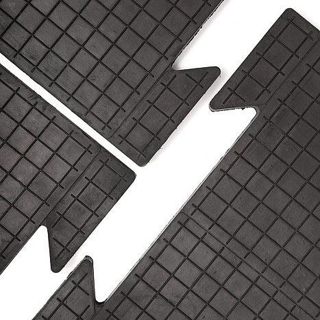 Резиновая плитка для гаража ТехноПол, 25 мм