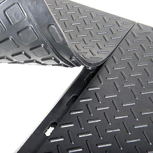 Резиновая плитка для гаража Трансформер, 16 мм