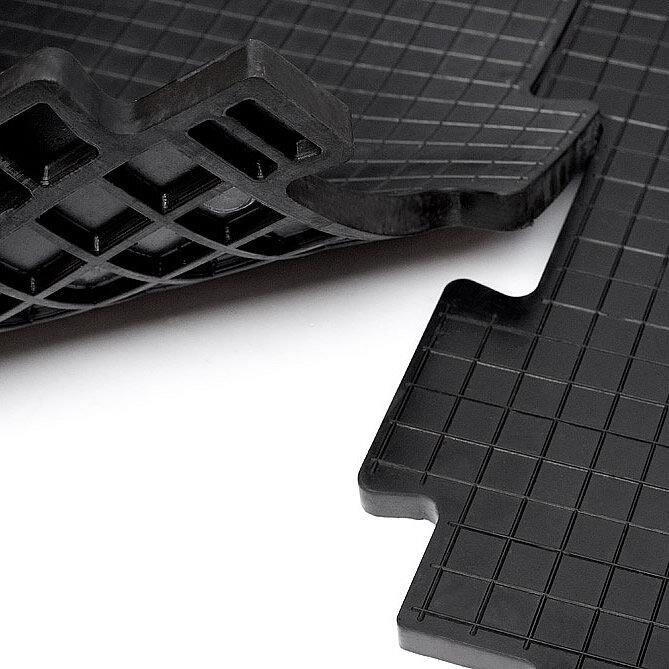 Резиновая плитка для гаража Унидор-Техно, 20 мм