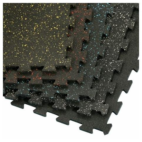 """Плитки-пазлы из резиновой крошки  """"ANT Mix Puzzle"""" 6 мм"""