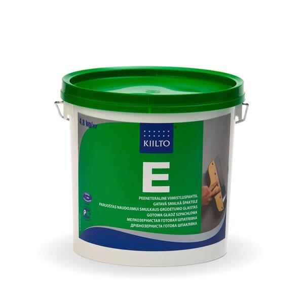 Kiilto E.  Мелкозернистая готовая шпатлевка 3 л / 4,3 кг.