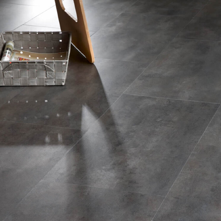40876 Concrete. Transform Click. Виниловый ламинат IVC Moduleo.