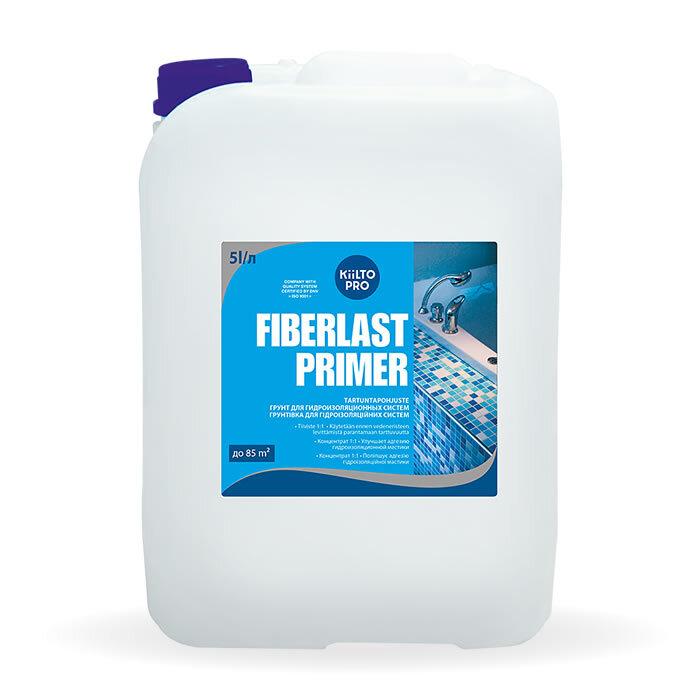 Kiilto Fiberlast Primer.  Гидроизоляционная грунтовка 5 л.