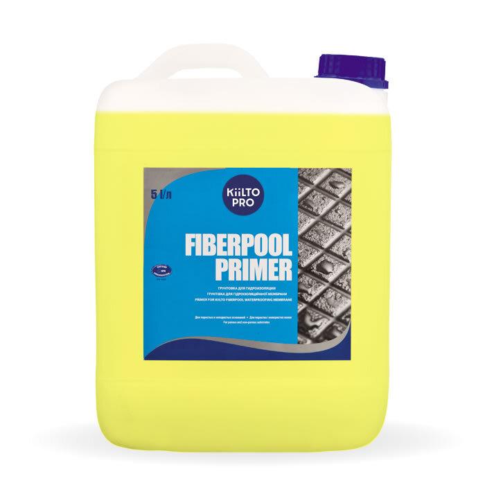 Kiilto FiberPool Primer.  Гидроизоляционная грунтовка 5 л.