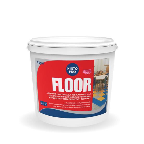 Kiilto Floor.  Клей для бытового линолеума и ковролина 18 кг.