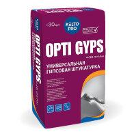 Kiilto Opti Gyps. Штукатурная смесь на гипсовой основе 30 кг.