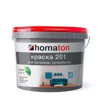 homaton 201.  Высококачественная краска для потолков.