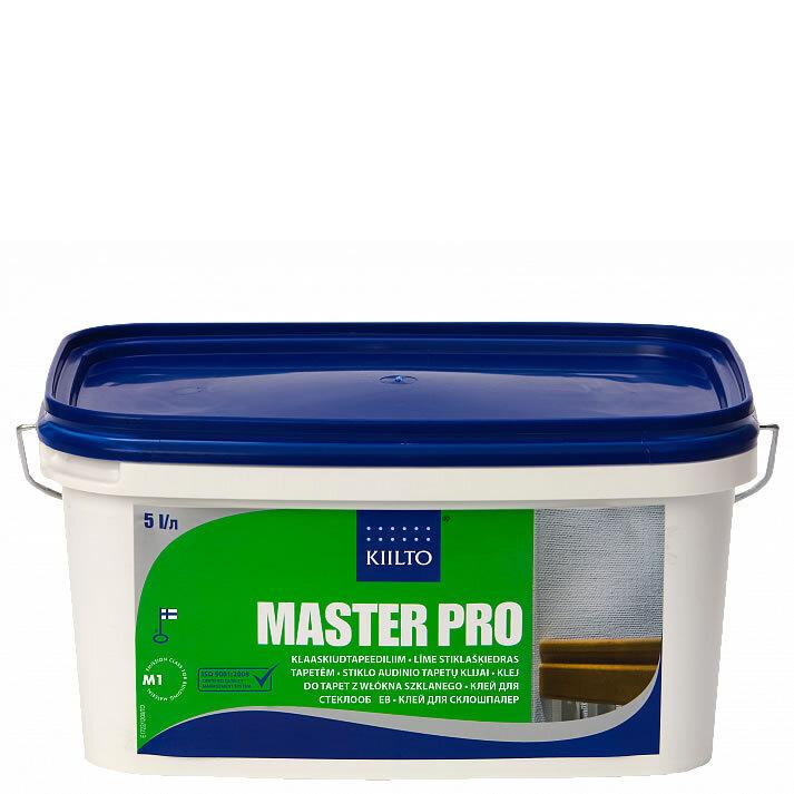 Kiilto Master Pro. Готовый клей для стеклообоев. 5 л.