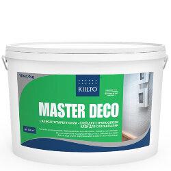 Kiilto Master Deco. Готовый клей для всех видов обоев. 10 л.