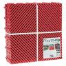 Пластиковая уличная модульная плитка Plasto Rip, красная