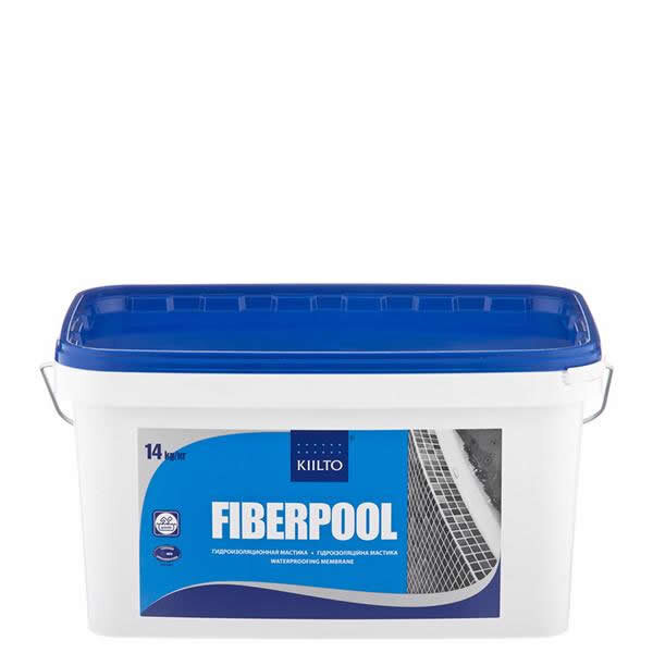 Kiilto FiberPool. Гидроизоляционная мастика. 14 кг.