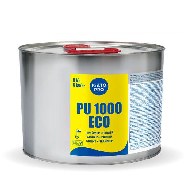 Kiilto PU 1000 ECO.  Полиуретановый грунт 5 л / 6 кг.