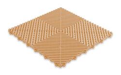 Пластиковая уличная модульная плитка Plasto Rip, кремовая