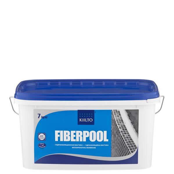 Kiilto FiberPool. Гидроизоляционная мастика. 7 кг.