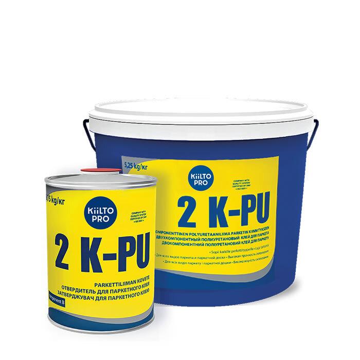 Kiilto 2K PU.  Полиуретановый клей для паркета.