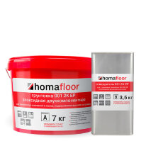 homafloor 001 2K EP. Двухкомпонентная эпоксидная грунтовка.