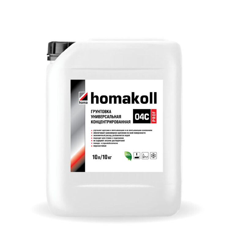 homakoll 04C.  Грунт-концентрат пленкообразующий.