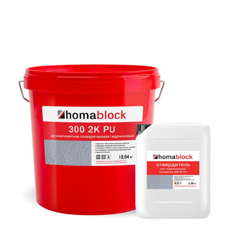 homablock 300 2K PU. Полиуретановая гидроизоляция.