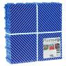 Пластиковая уличная модульная плитка Plasto Rip, синяя