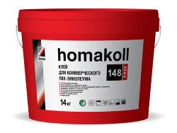 homakoll 148 Prof.  Клей для коммерческого линолеума. 14 кг.