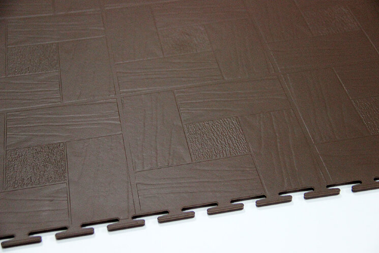 Модульное напольное ПВХ покрытие SENSOR WOOD 5 мм