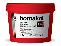 homakoll 188 Prof.  Клей-фиксация для напольных покрытий. 10 кг.