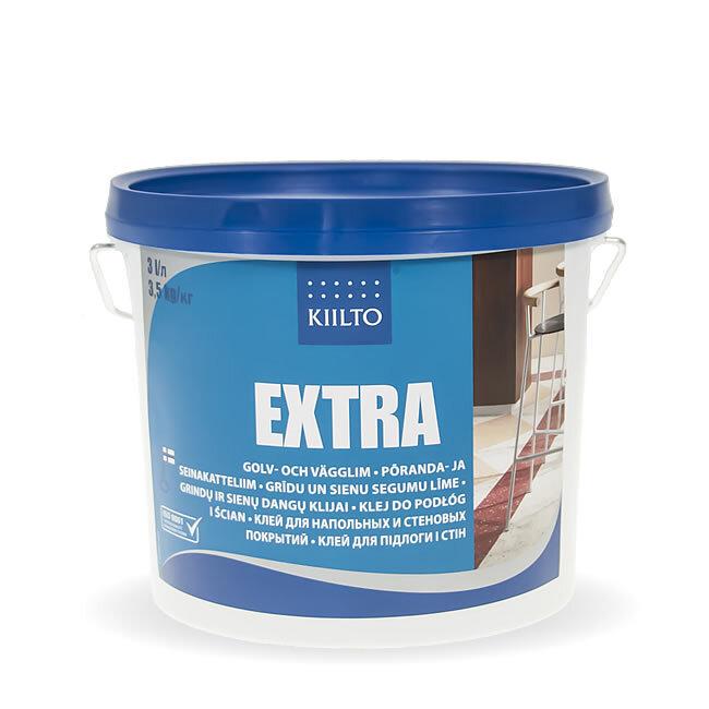 Kiilto Extra. Клей для напольных и стеновых покрытий 3,5 кг.